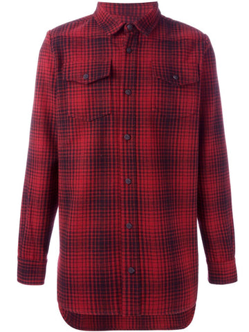 Heavy Plaid Shirt | 3OMGA-001F16-069023 TARTAN