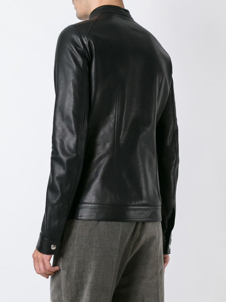 Leather Racer Jacket | RU16F-6778-LCW