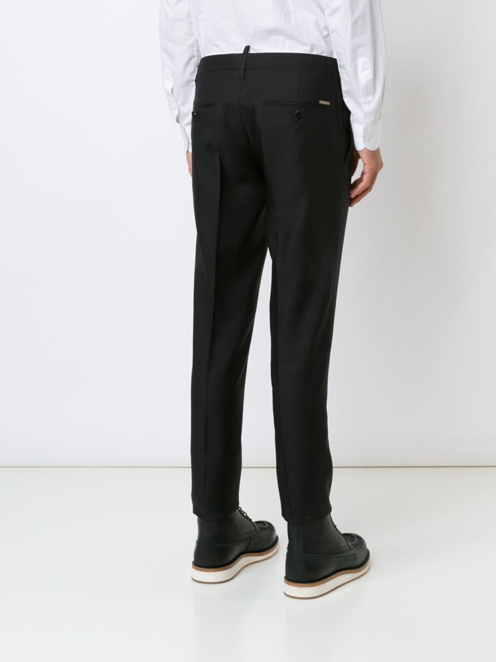 Tailored Wool-Silk Trouser | S74KA0931-S39408