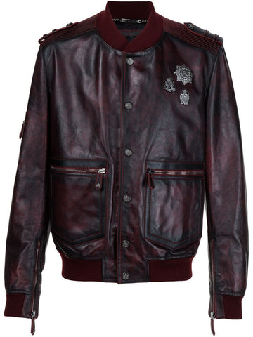 Calf Leather Jacket | HM220419