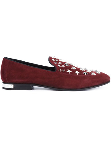 Star Studded Suede Loafer | SM091224