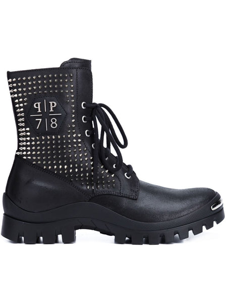 Studded Combat Boot | SM031231