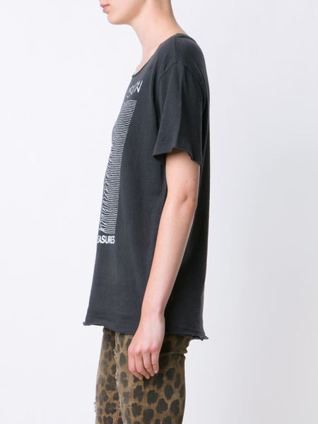 Cotton 'Unknown Pleasures' Tee | R13W3022-003
