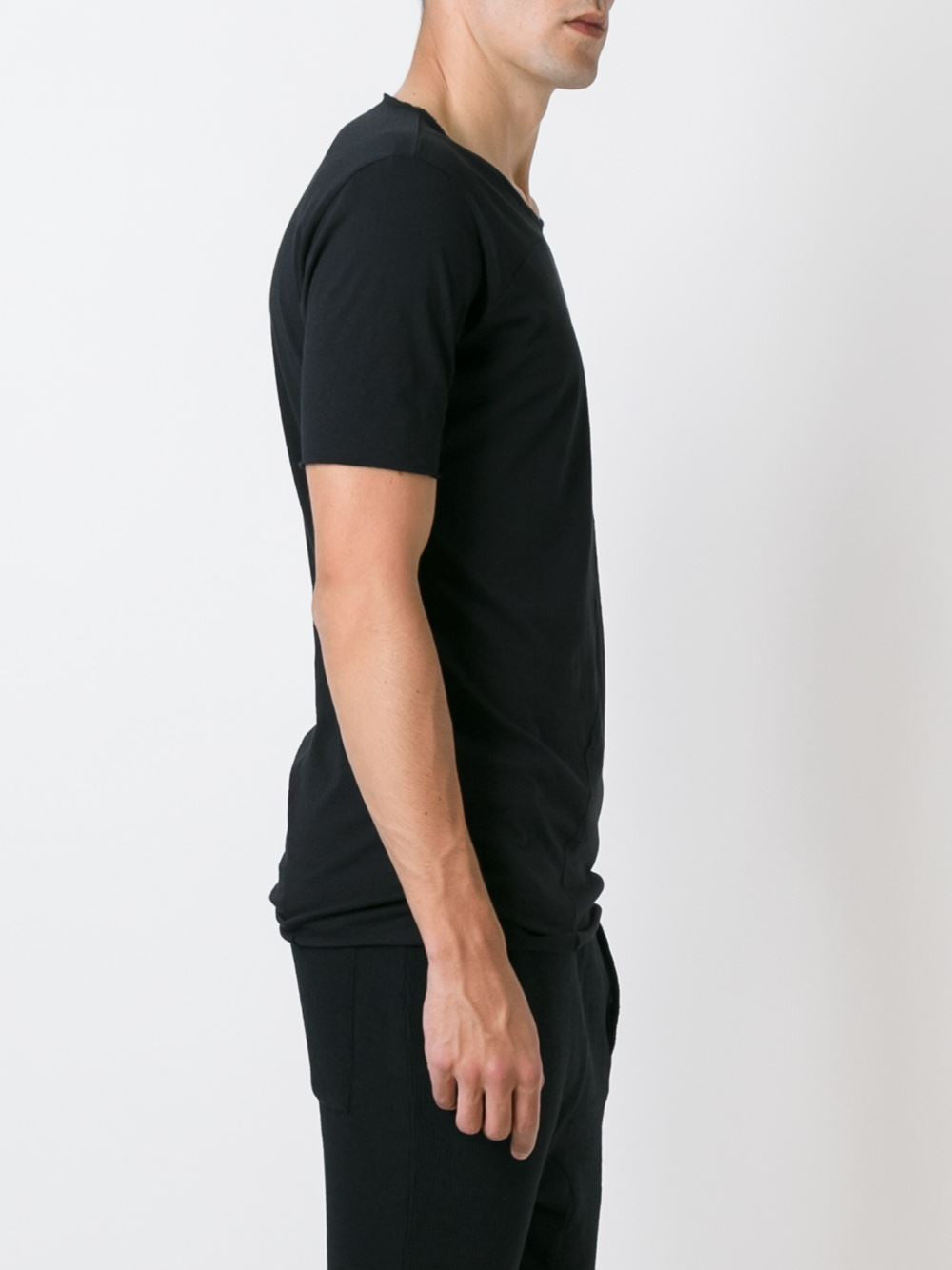 Paneled Cotton Tee | MTS250