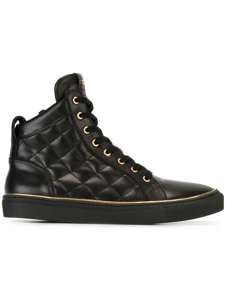 Quilted Hi-Top Sneaker | W6HT324D649