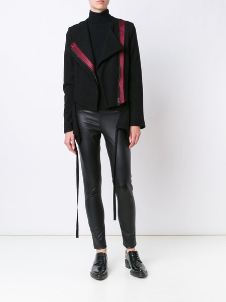 Asymmetric Wool Jacket | 1602-2500-P-236-097