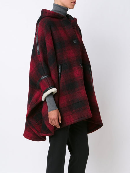 Hooded Flannel Coat | S32AH0025 S45506