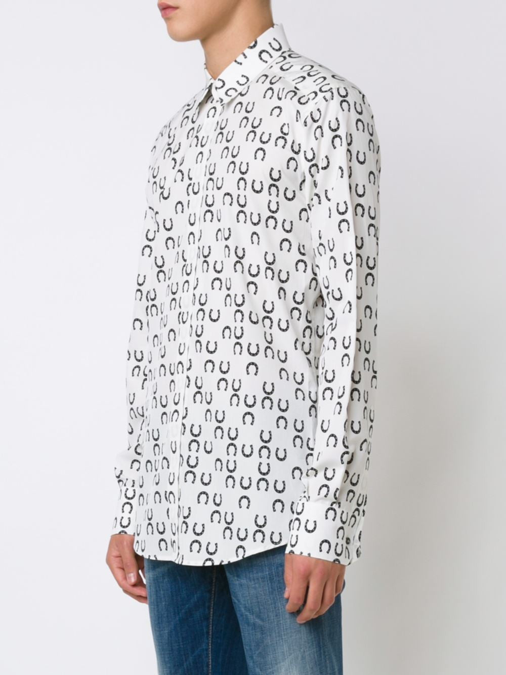 Horseshoe Pattern Shirt | G5DS4T-FS5ZU