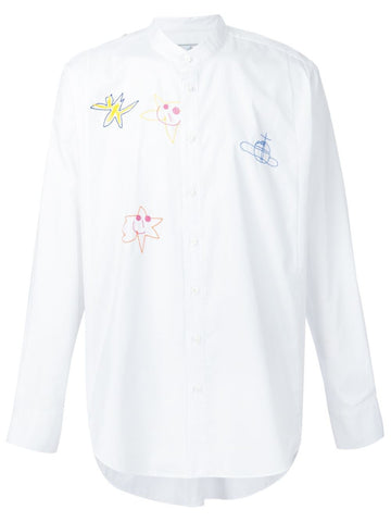 Embroidered Cotton Shirt | S25DL0343-S45318
