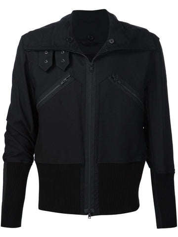 Nylon Zipped Jacket | 1602-3002-198