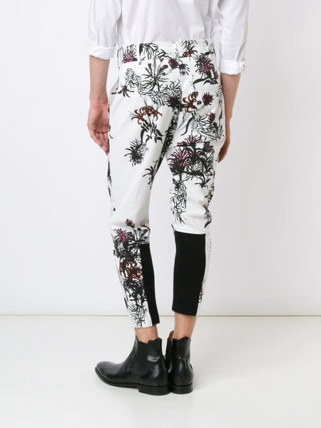 Floral Stretch-Cotton Trouser | 1602-3400-182