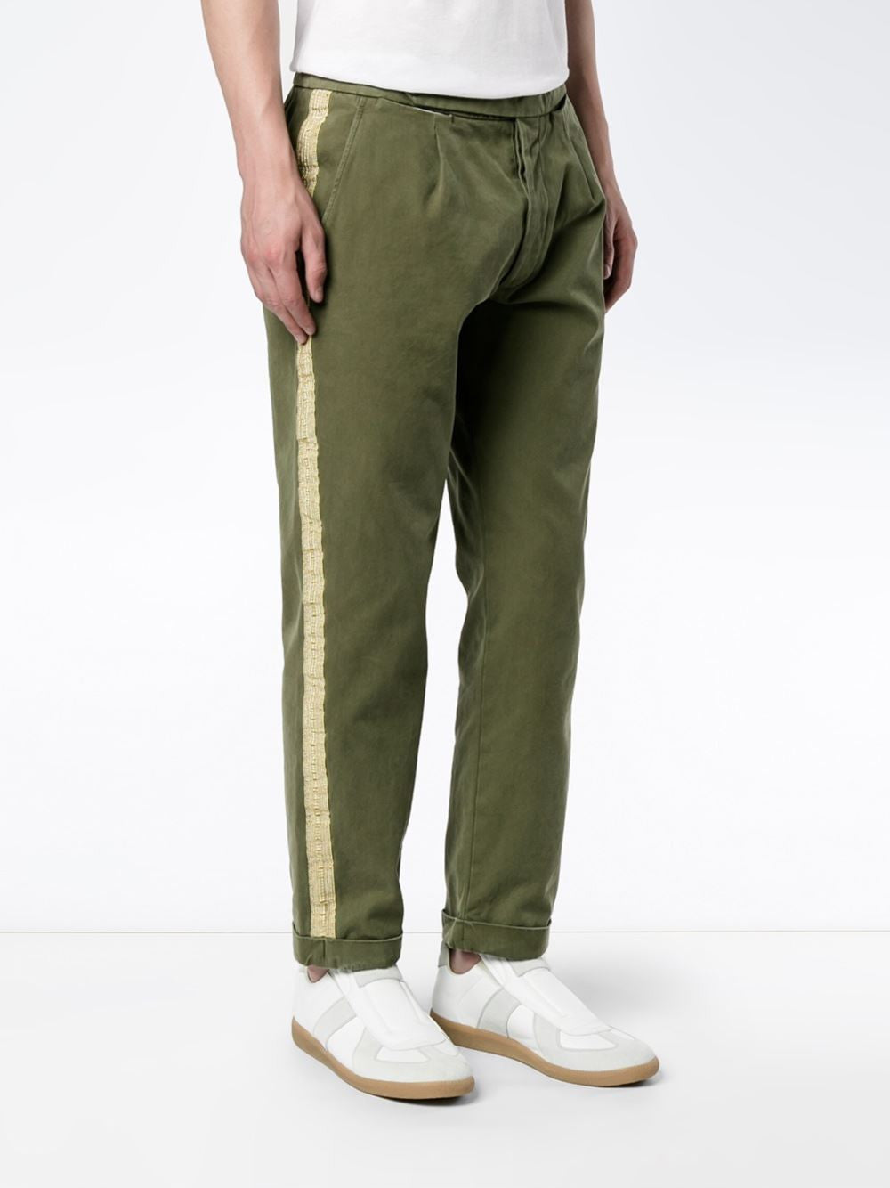 Striped Cotton Pant | PMCA003-F1601-0032
