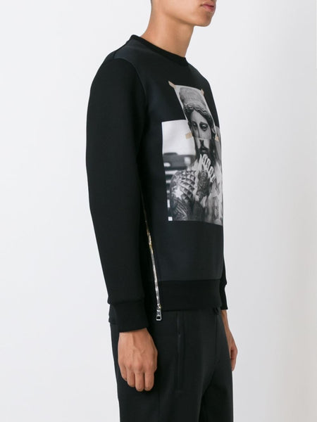 Collage Graphic Pullover | PBJS136S-B521S