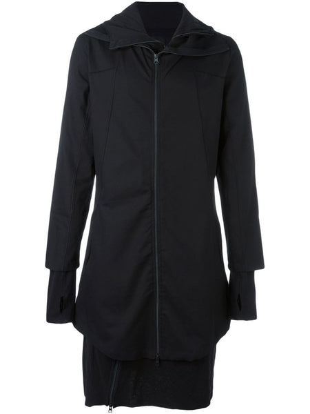 Layered Cotton Coat | MJ13
