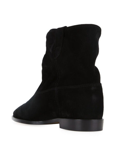 Reverse Leather Bootie | CRISI BO0025-00M003S