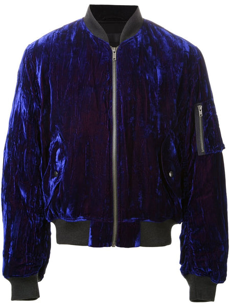 Crushed Velvet Bomber | 164-3012-191