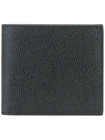 Bi-Fold Pebble Grain Wallet | MAW023A-00198-001