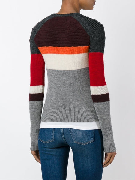 Colour Blocked Sweater | DOYLE PU0463-16A044E