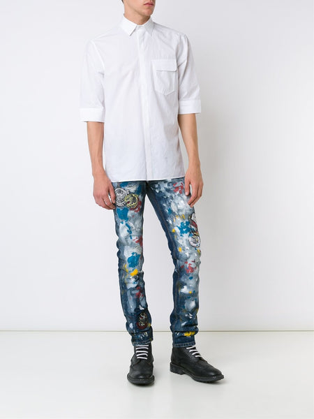 Paint Splatter Skinny Jean | HD100628
