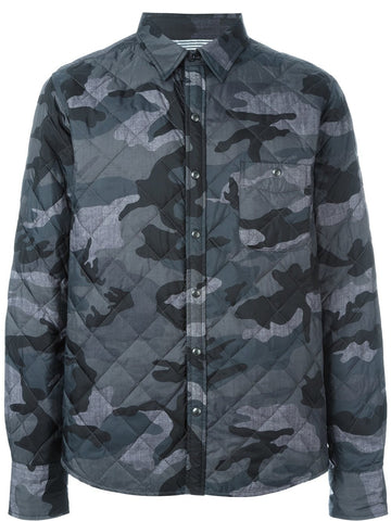Camo Down Shirt-Jacket | 52042-00-68720