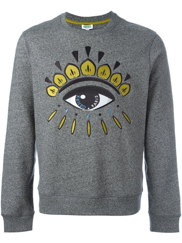 Embroidered Eye Pullover |F665SW0554XJ