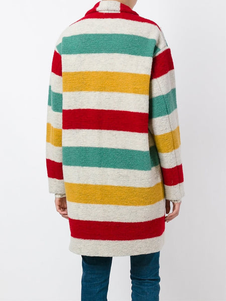 Striped Coat | GABRIE MA0211-16A006E