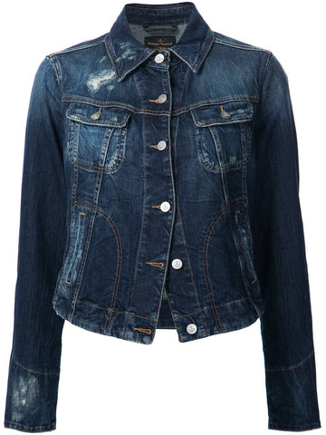Distressed Denim Jacket | DSOINY-DS07R-01-PF16-LT