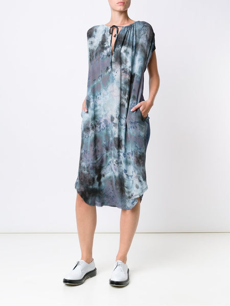 Silk Tie-Dye Dress | Y64-6406