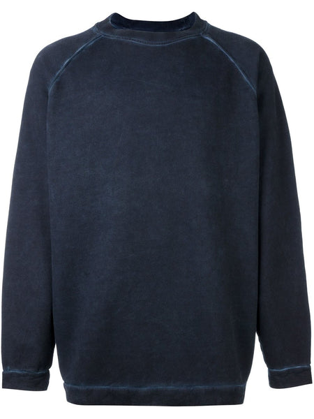 Cold-Dyed Pullover | OMBA-007F16-003023 FLEECE