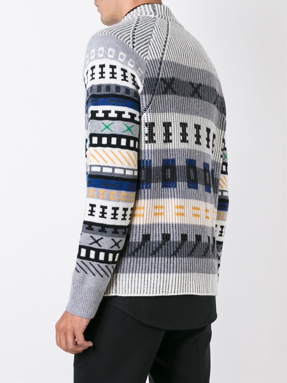 Wool Intarsia Sweater | F665PU2223CB