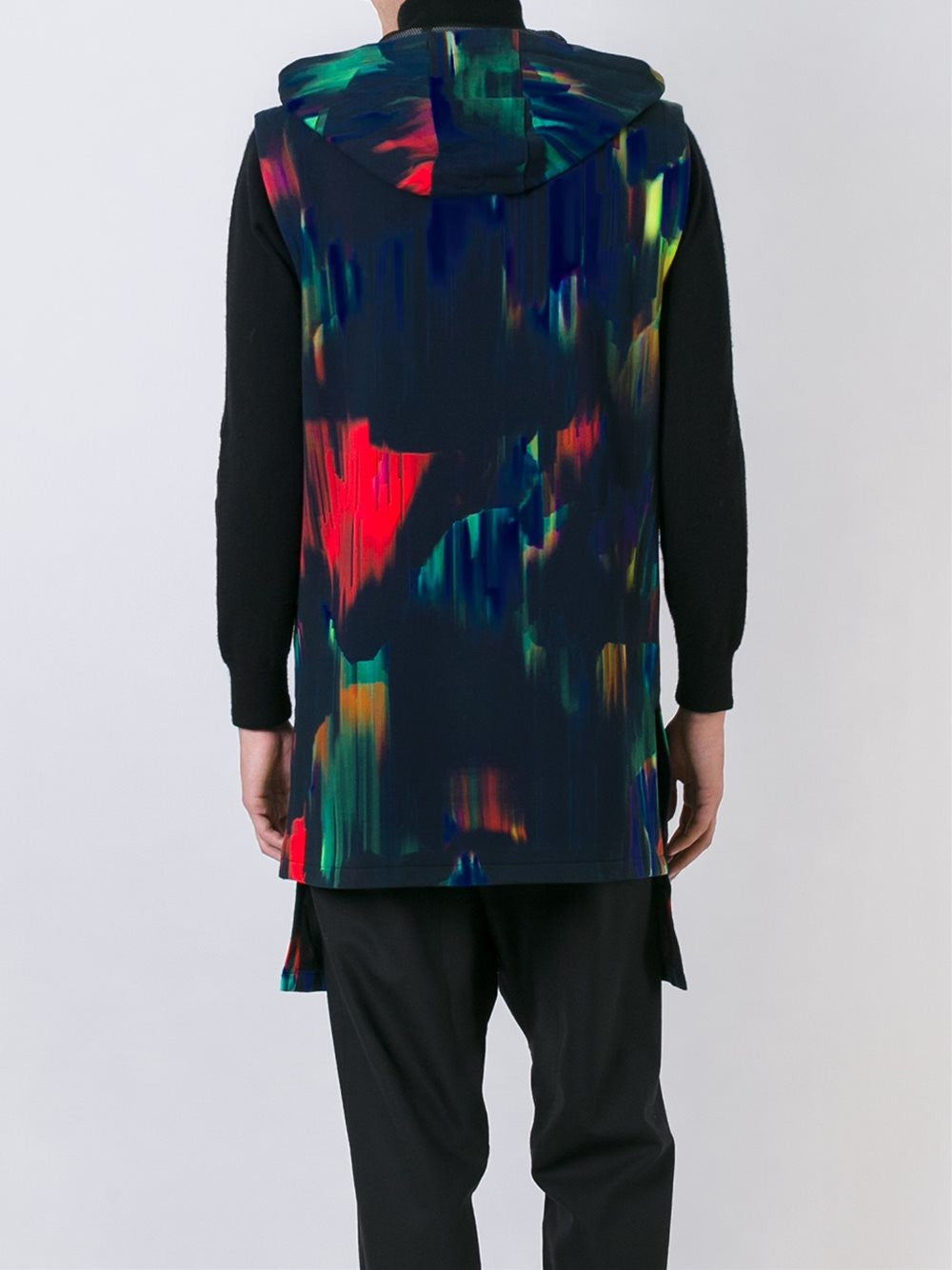 Abstract Runner's Vest | B47558 AOP FT CU