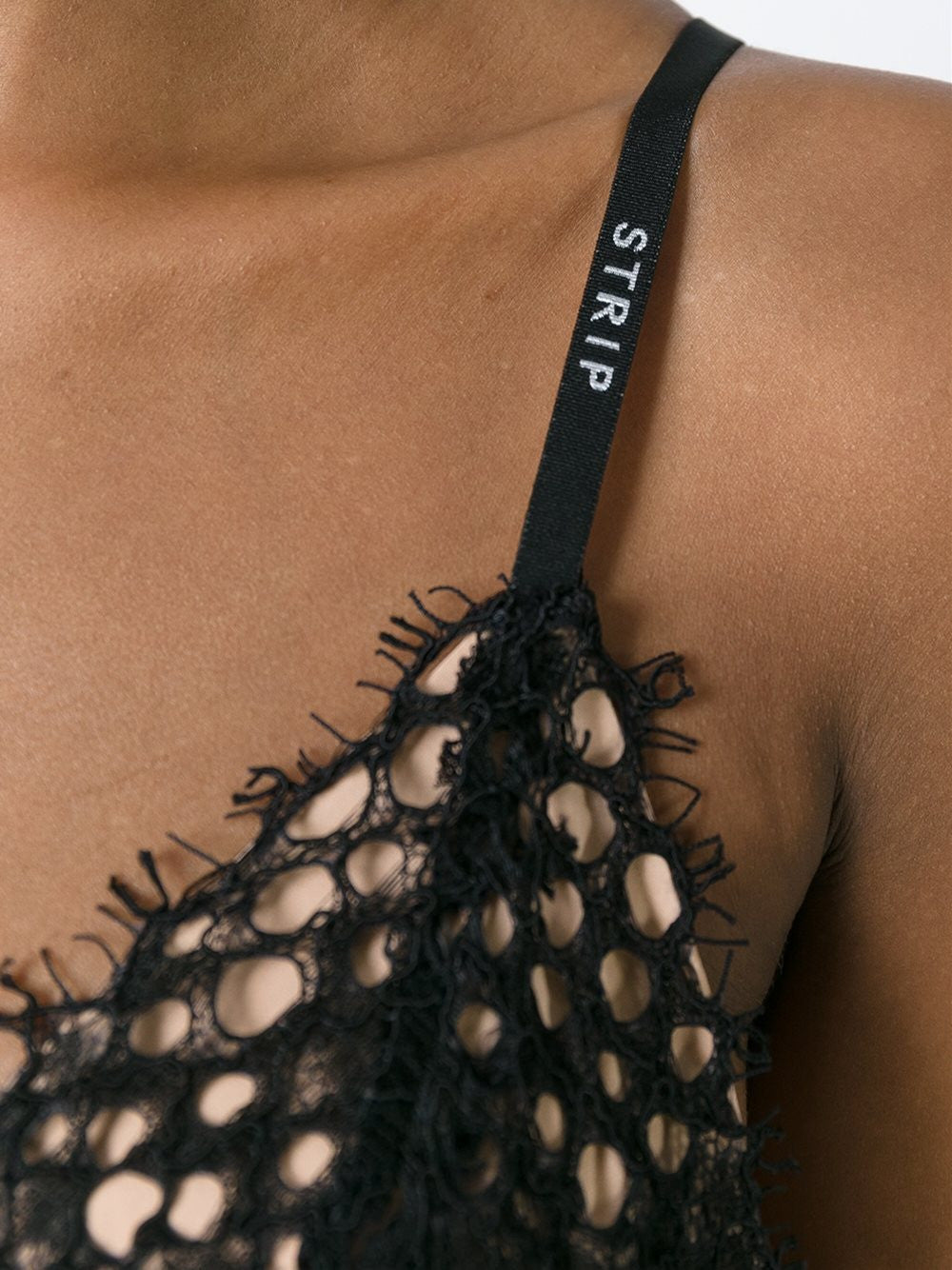 Silk 'Strip' Bralette | 109895P16 FB6282P16