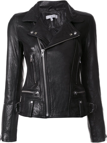 Leather Motorcycle Jacket | 16WWP09 AREA