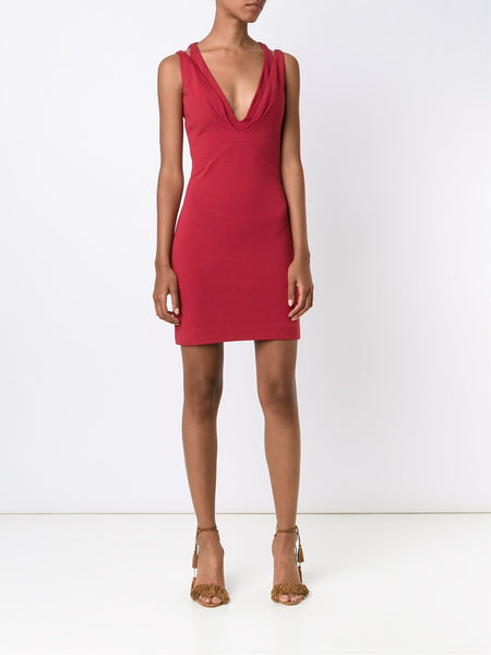 Sleeveless Body-Con Dress | S72CU0329-S22890
