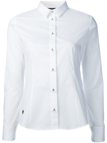 Skull-Button Shirt | CW314311