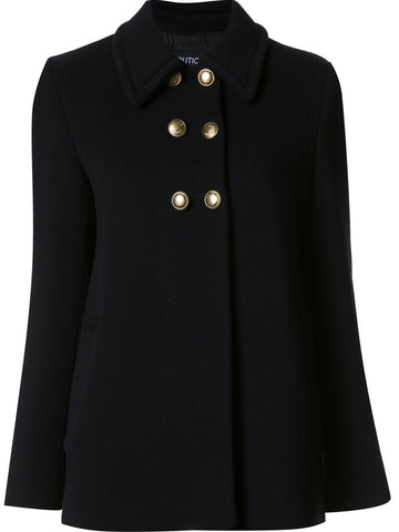 Double-Breasted Wool Coat | 0614-5815