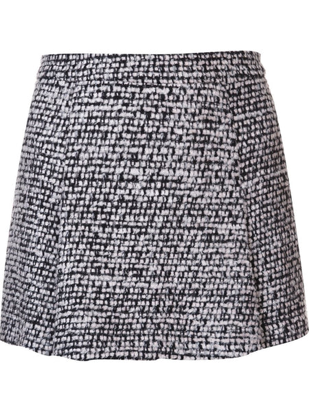 Skirted Tweed Short | 0305-5818