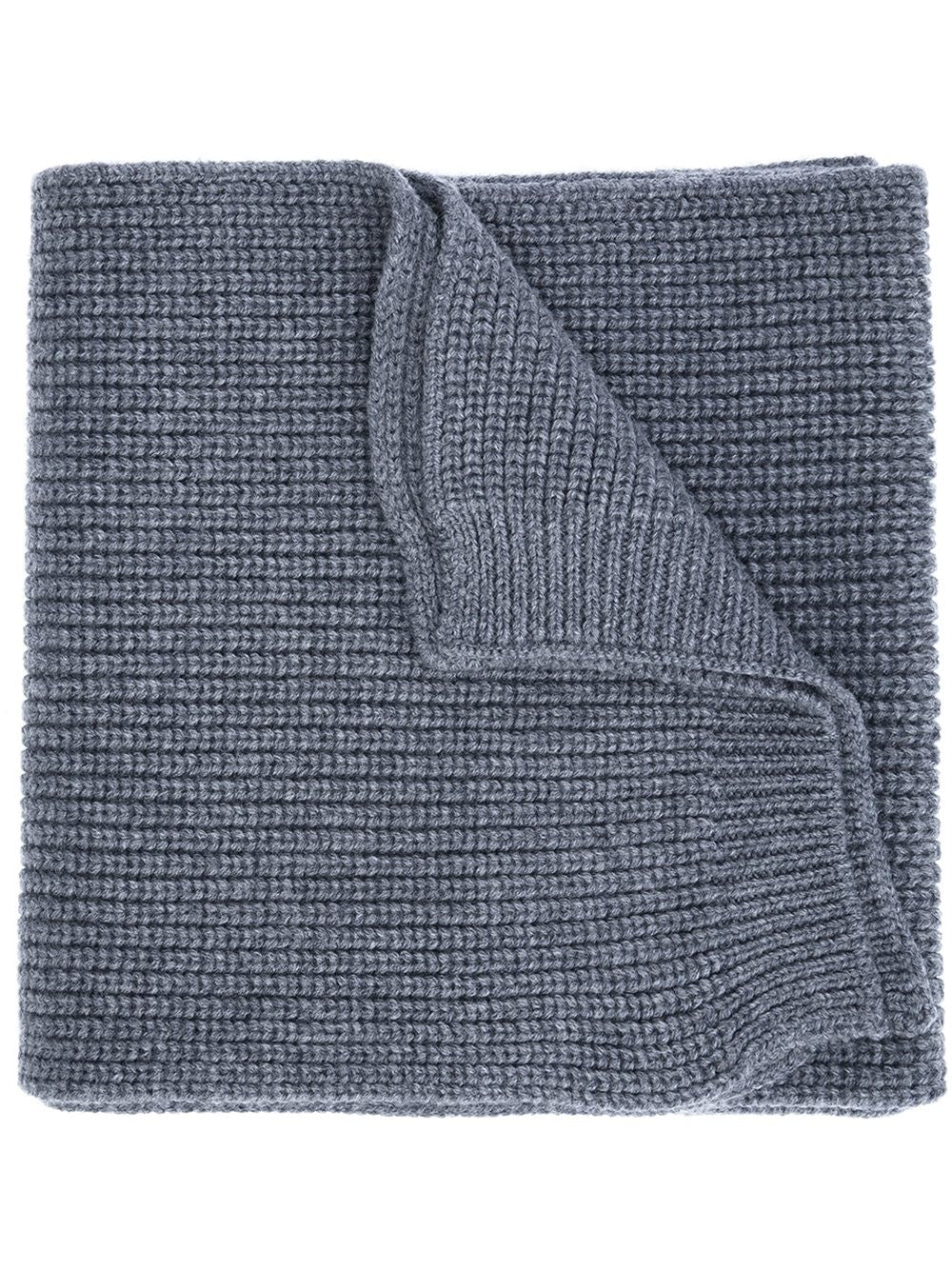 Ribbed Wool Scarf | 00040-00-09966
