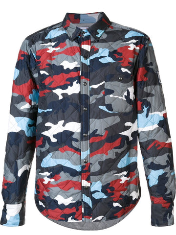 Camo Down Shirt-Jacket | 52042-00-68714