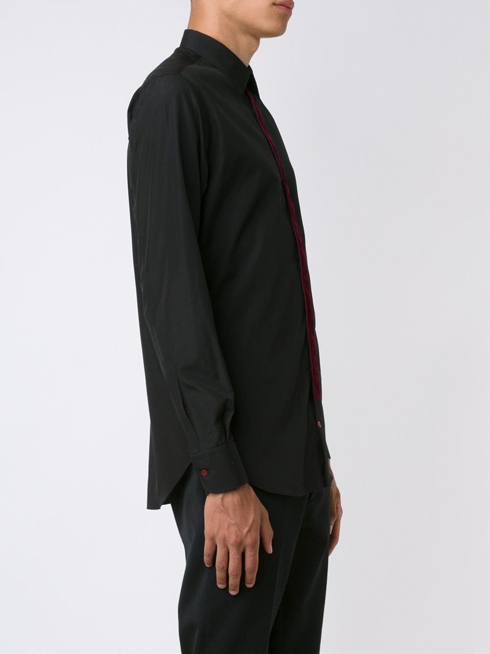 Contrast Placket Shirt | 435471QHN04