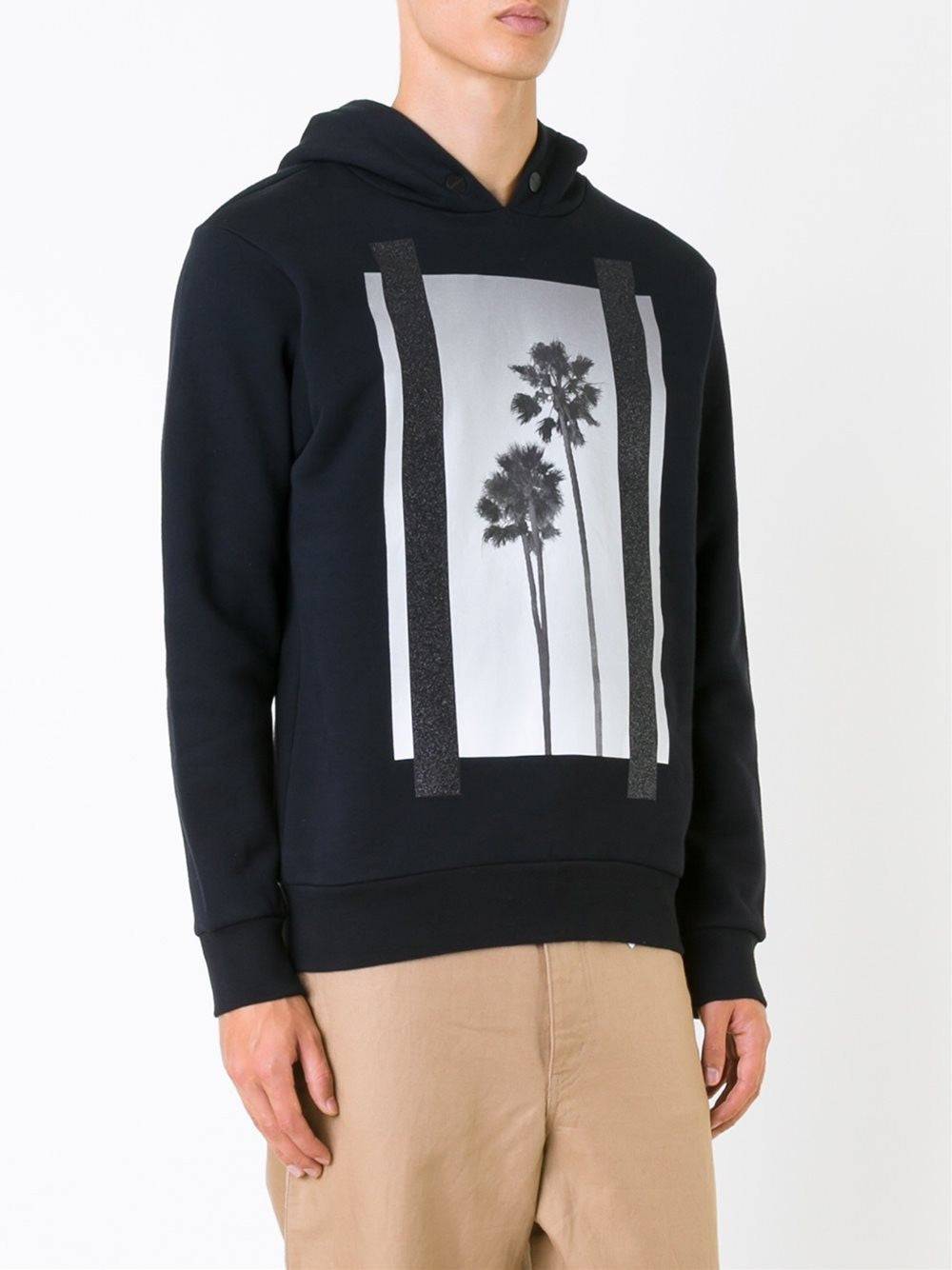 Graphic Cotton Hoodie | PMBB003-F1608-8007