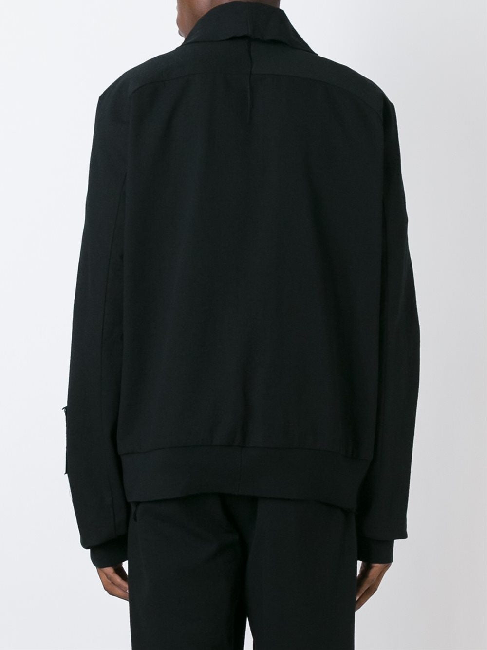 Leather Panel Johnson Sweatshirt | AF1M0007-L2000 JOHNSON