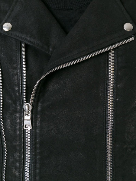 Waxed Cotton Motorcycle Jacket | W6HT-265D575