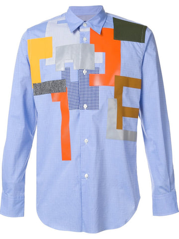 Patchwork Shirt | B043-051