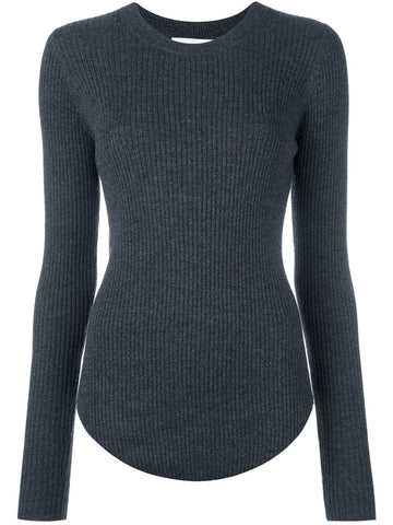 Ribbed Wool Knit | 16WWM12 SERENA