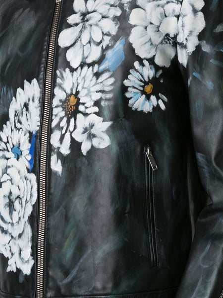Hand Painted Leather Jacket | 438927Q5KNU