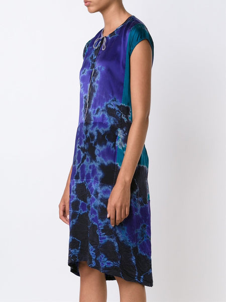 Silk Tie-Dye Dress | Z65-6412