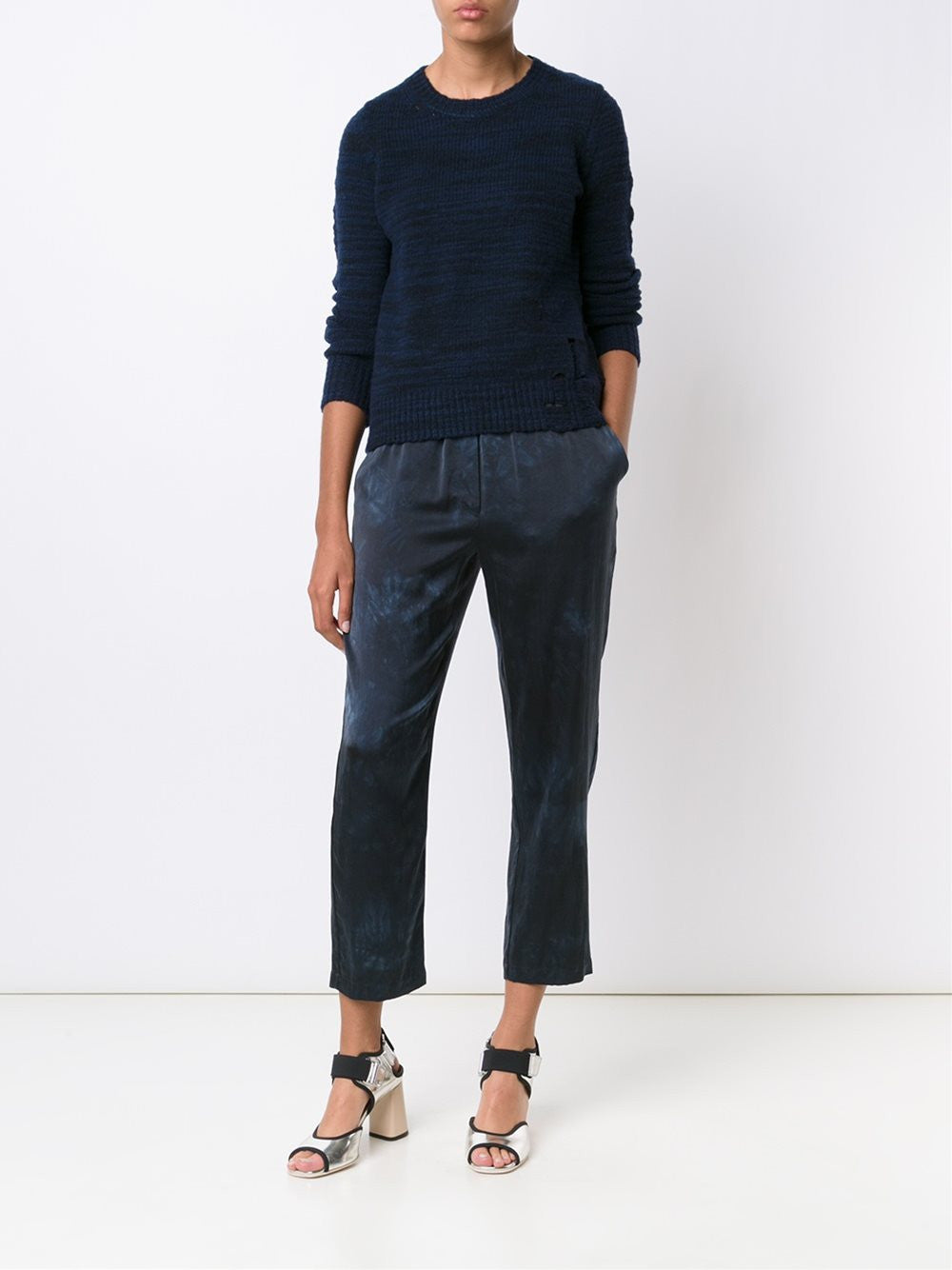 Relaxed Silk Pant | Z65-6346