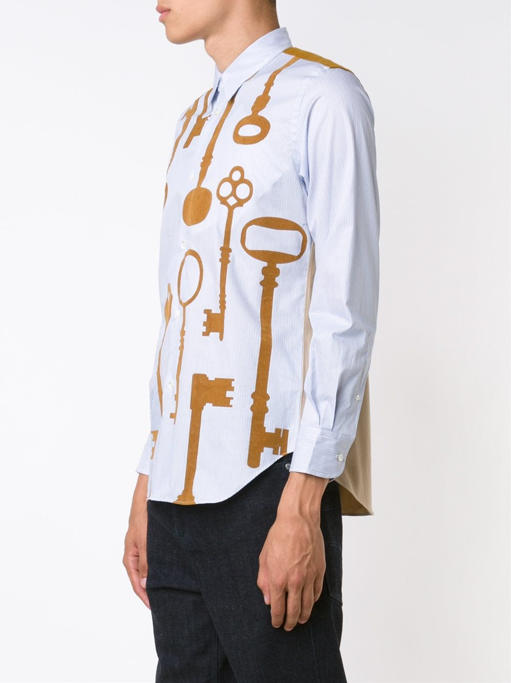 Cotton Key Shirt | B034-051