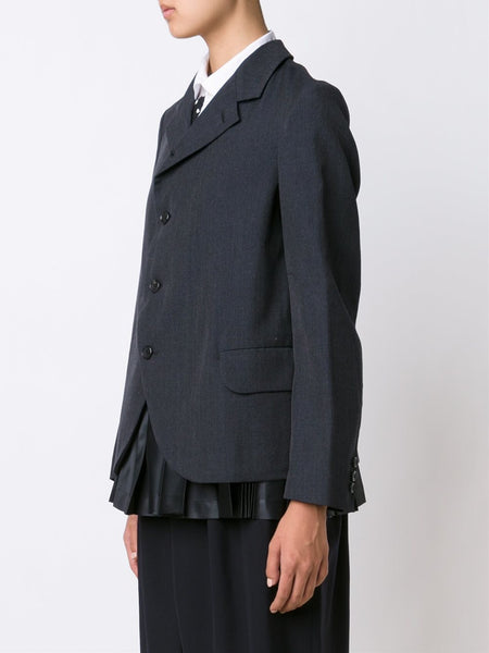 Pleated Hem Blazer | RR-J005-051